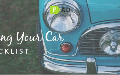 How to sell a car: A handy checklist