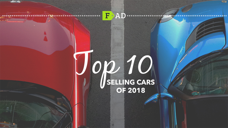 10 Top Selling Cars of 2018