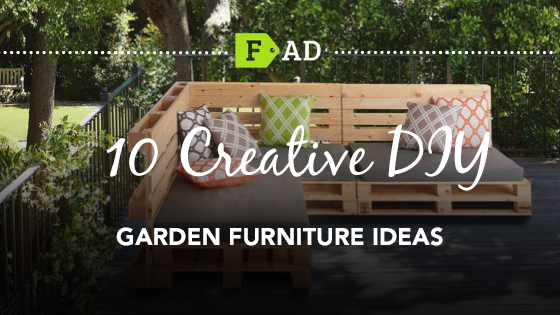 10 Creative DIY Garden Furniture Ideas