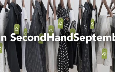 In need of a closet clear out? Join #SecondHandSeptember