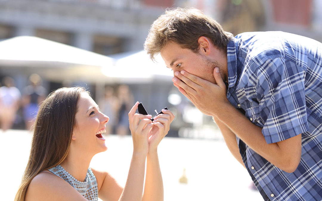 Leap Year Proposal: The ladies that popped the question…