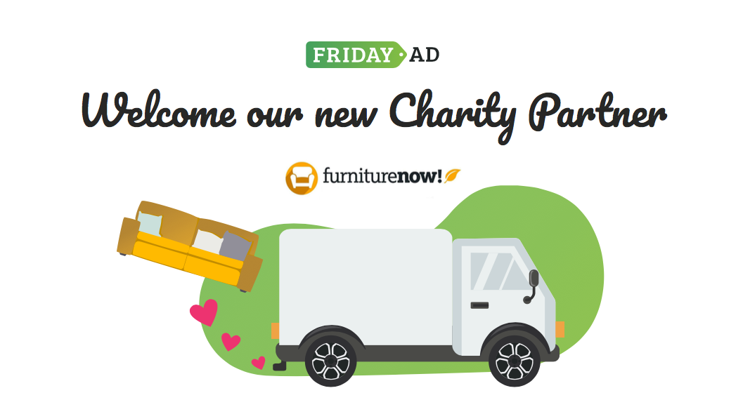 Welcome Our New Charity Partner, Furniture Now!