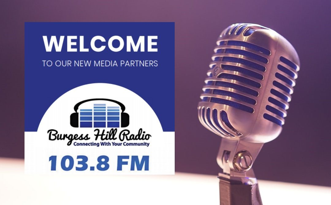 Welcome our New Media Partner: Burgess Hill Radio