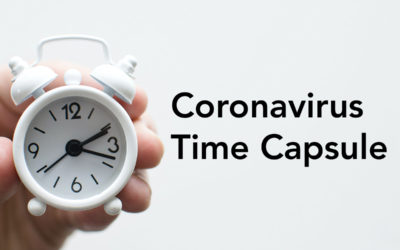 Coronavirus time capsule