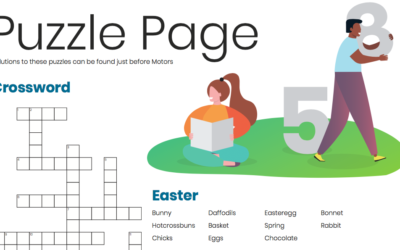 Easter Puzzle Page