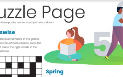 Spring Puzzle Page