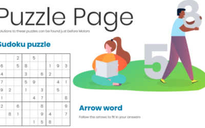 Gardening Puzzle Page