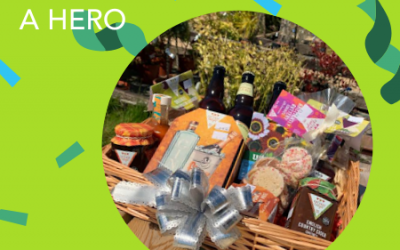 WIN a hamper for a hero in your community!