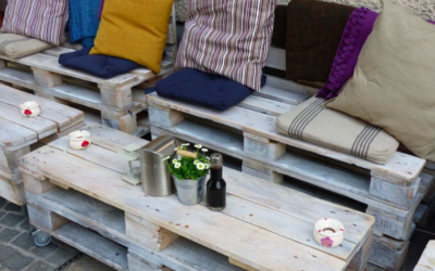 Ways to use upcycling to update your garden this summer