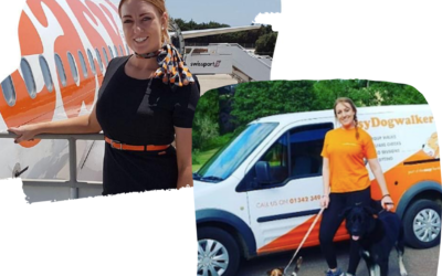 From EasyJet to EasyDogwalking | How I took that leap and followed my dream…