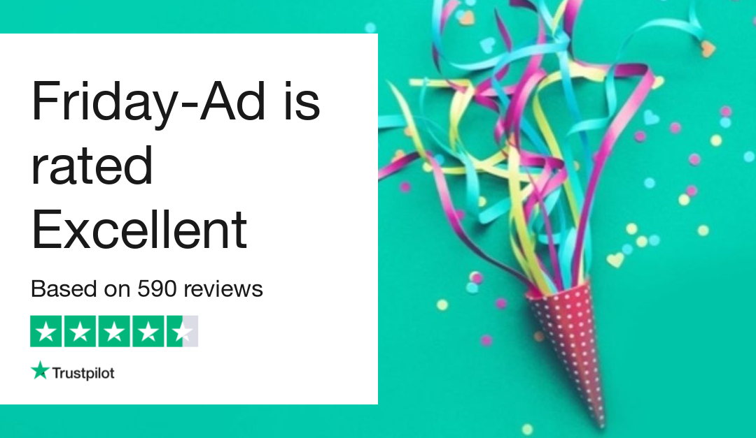 Friday-Ad is the UK's Favourite Marketplace