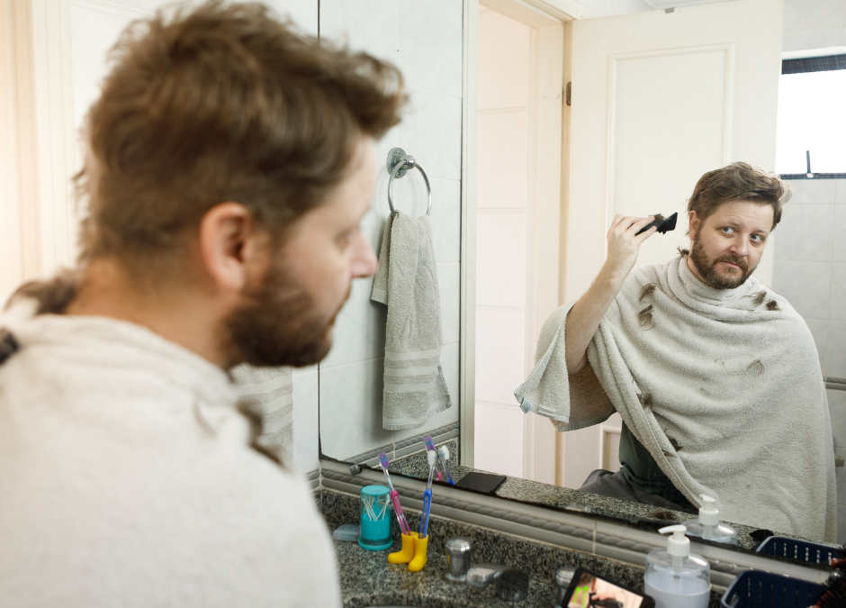 How to cut your hair from home!