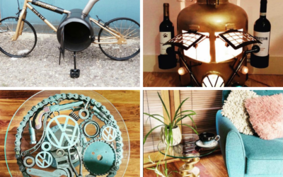 Upcycling creations by 'The Warwick Welder'