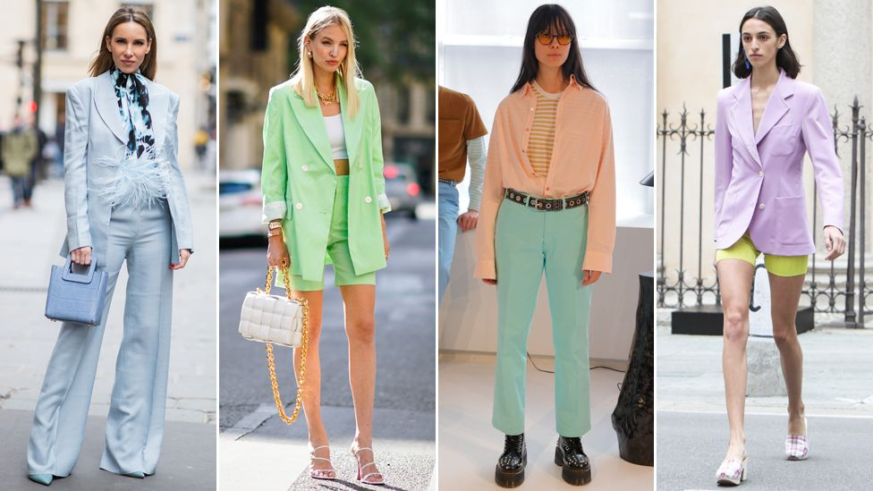 pastel fashion outfits