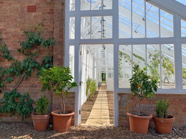 Kitchen garden Conservatory
